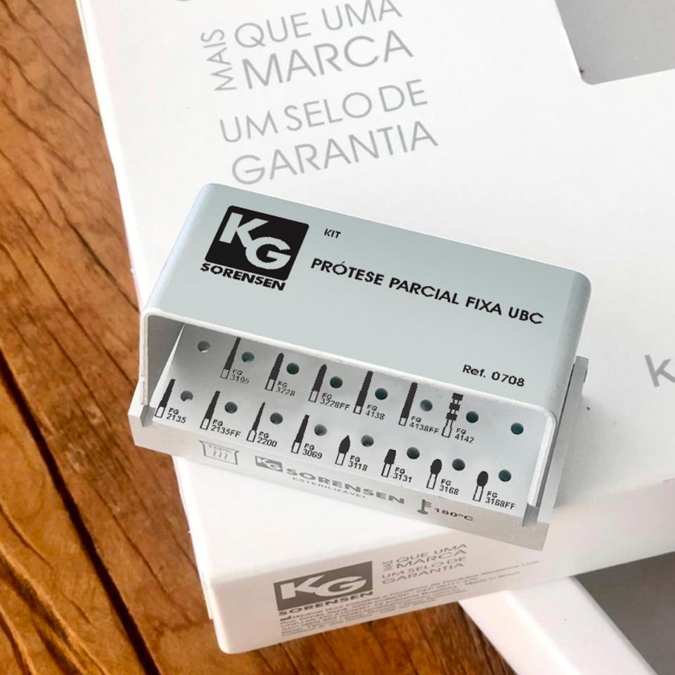 Kit Prótese Parcial Fixa UBC - Ref. 0708