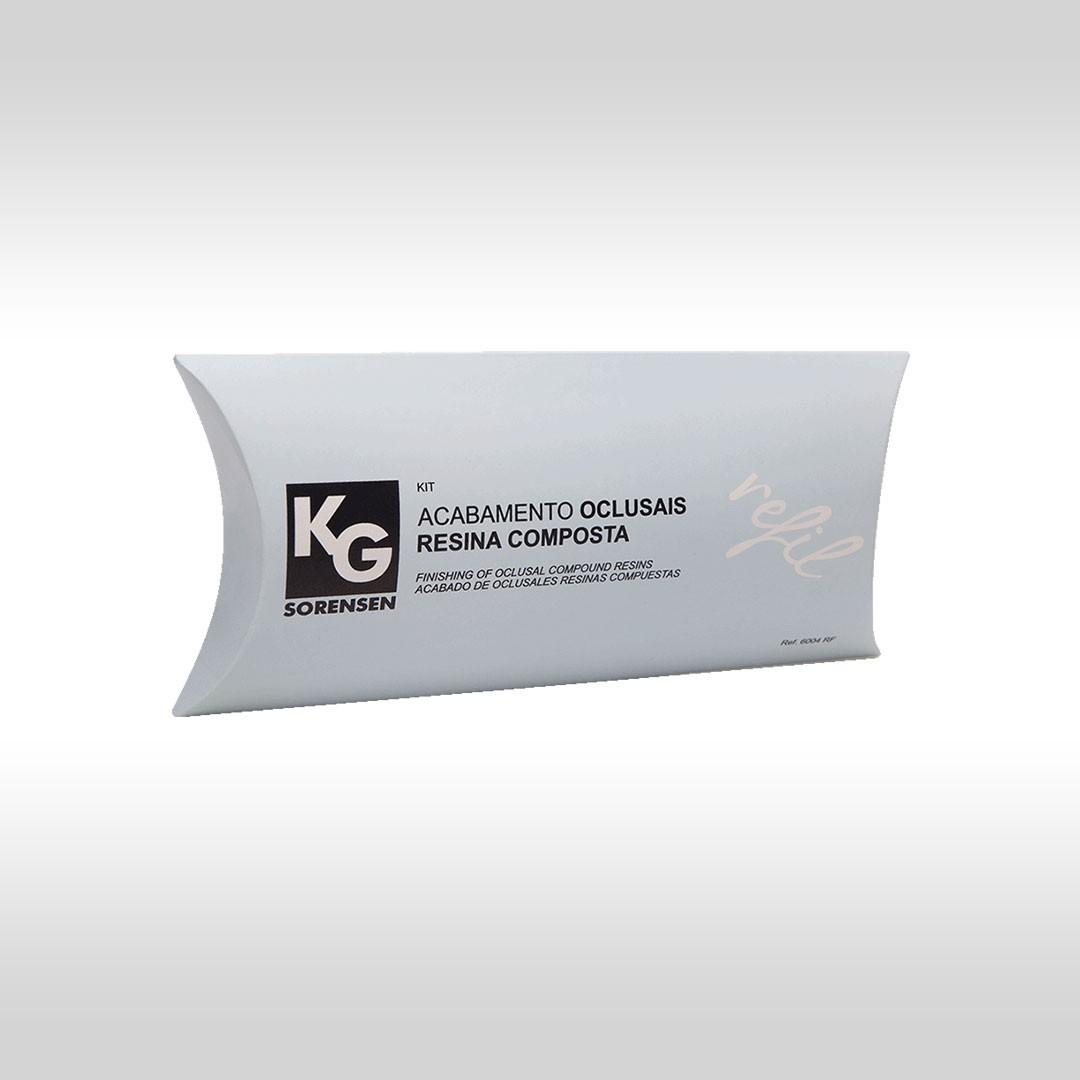 Kit Refil Acabamento Oclusais Resina Composta