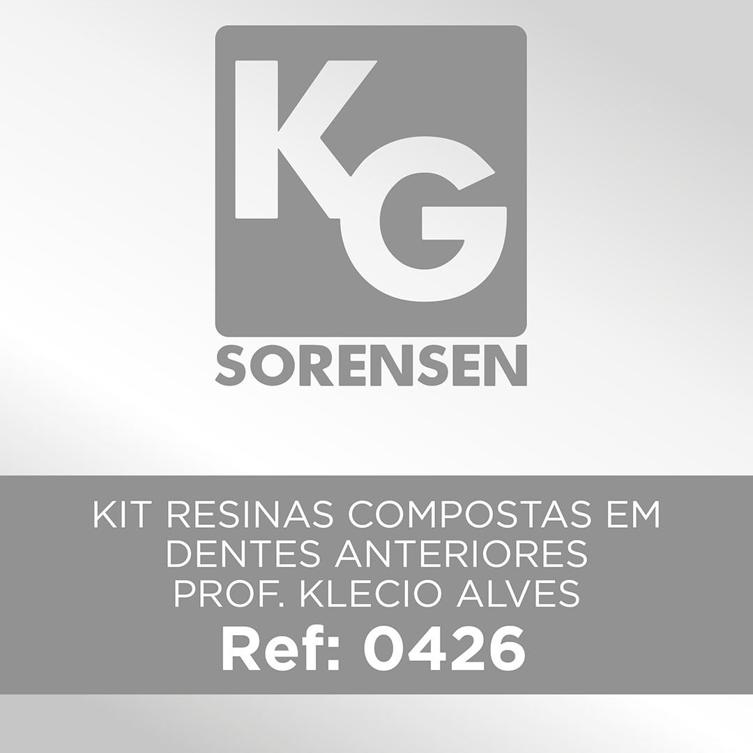 Kit Resinas Compostas em Dentes Anteriores - Prof. Klecio Alves