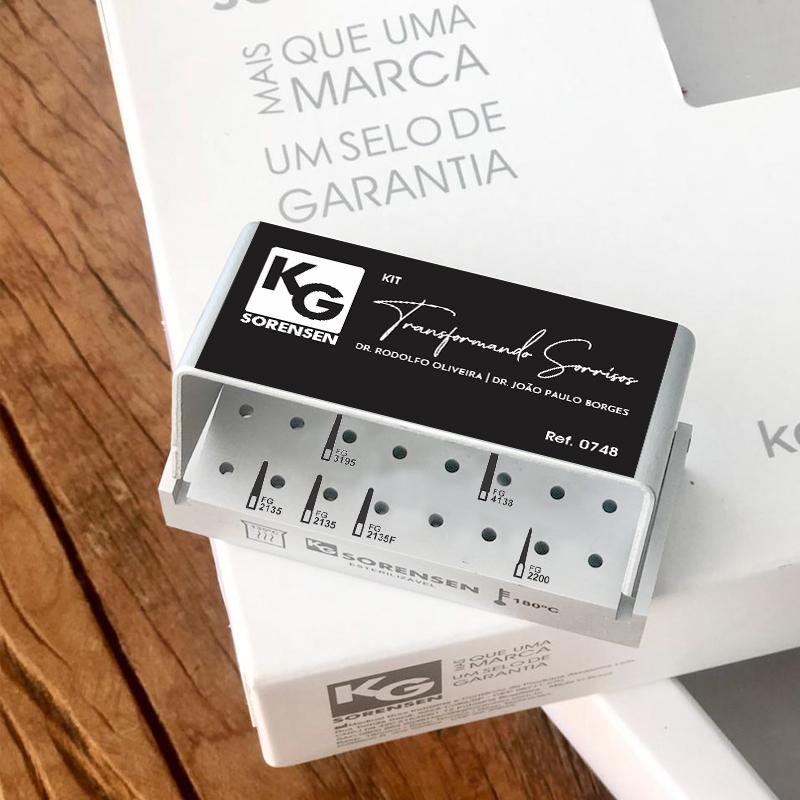 KIT TRANSFORMANDO SORRISOS - Ref. 0748 - KG SORENSEN