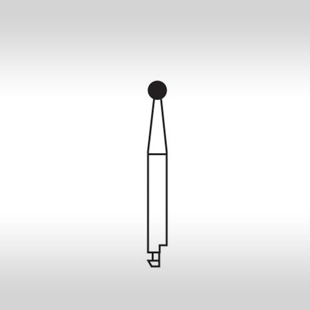 Ponta Diamantada Esférica CA 5 (Baixa Rotação) - KG Sorensen