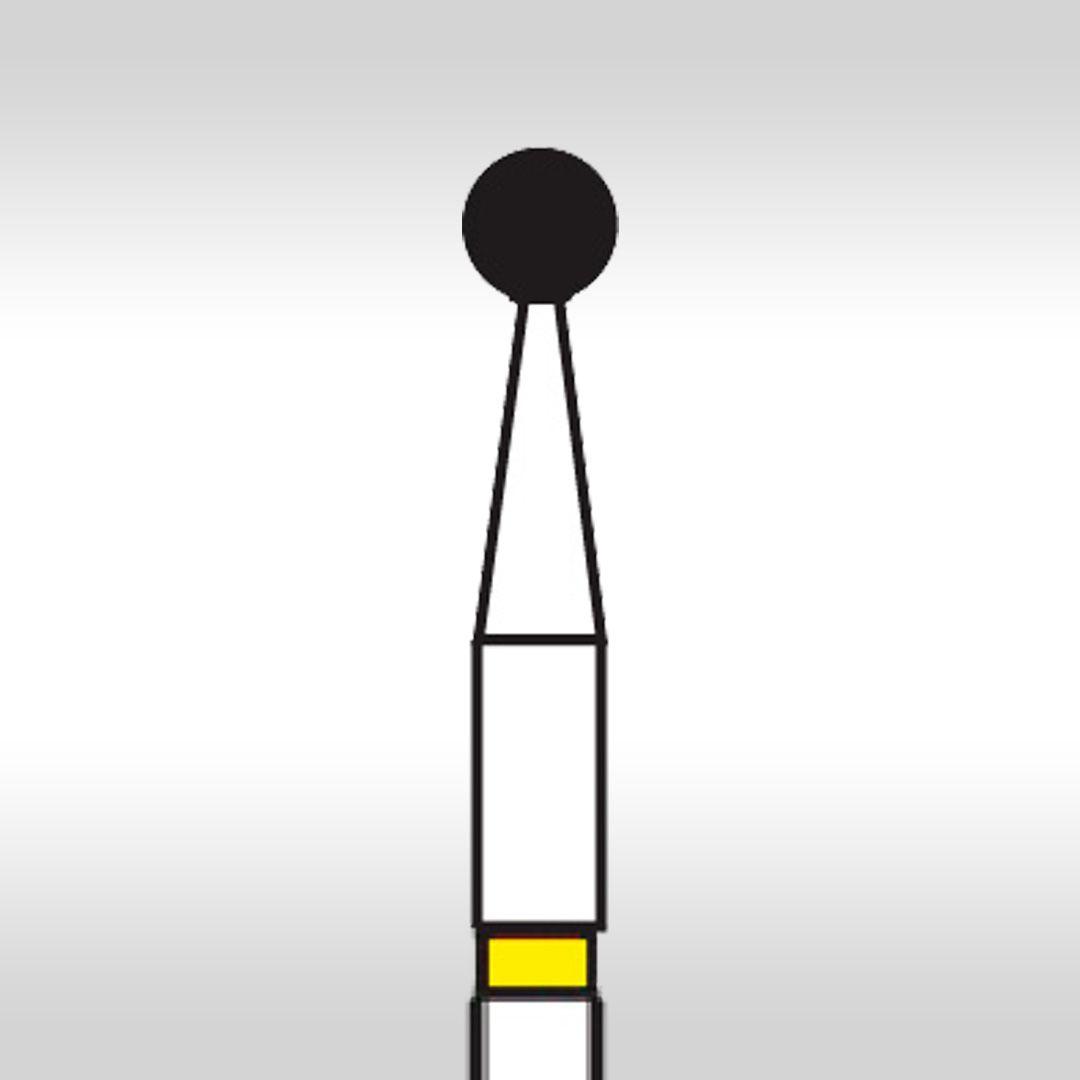 Ponta Diamantada Esférica PM 15FF - KG Sorensen