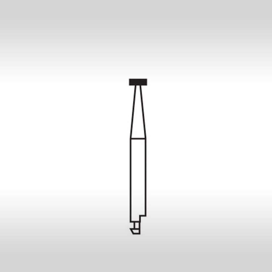 Ponta Diamantada Roda CA 17 (Baixa Rotação) - KG Sorensen