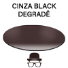 Lente Cinza Black Degradê