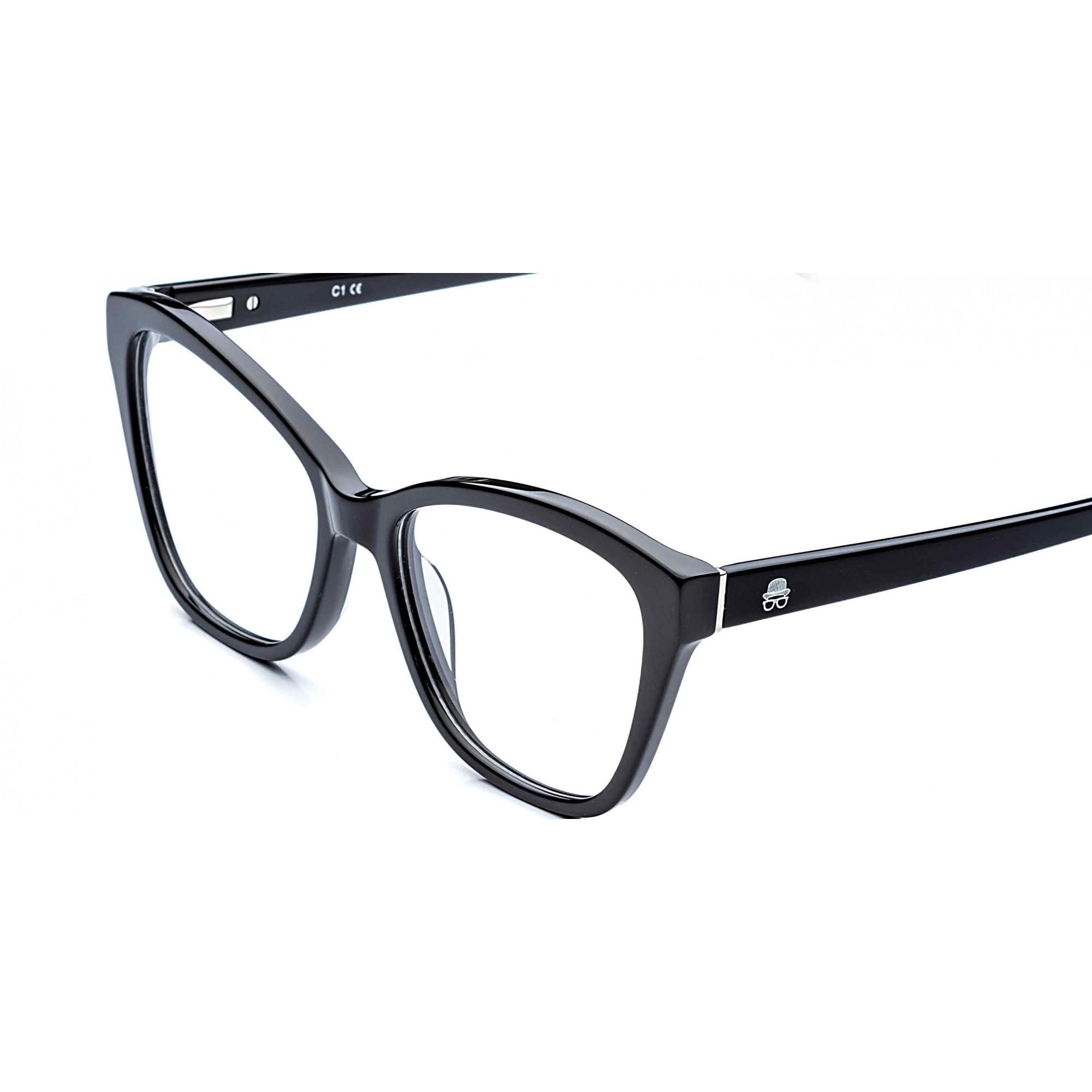 Óculos de Grau Melody Rafael Lopes Preto Eyewear