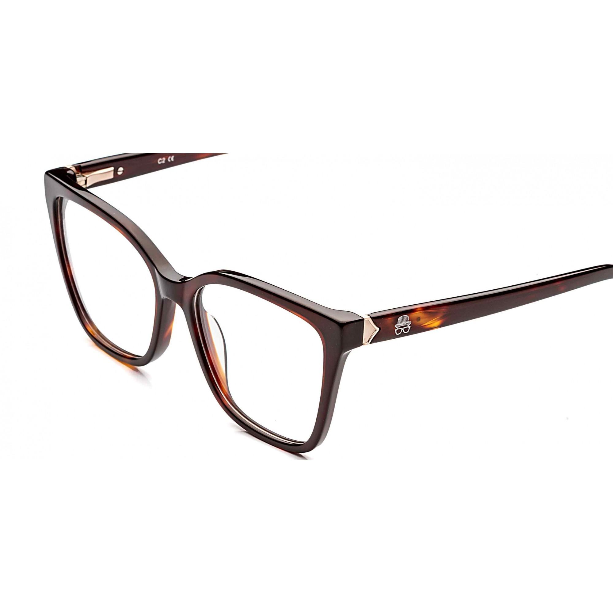 Óculos de Grau Milla Rafael Lopes Marrom Eyewear
