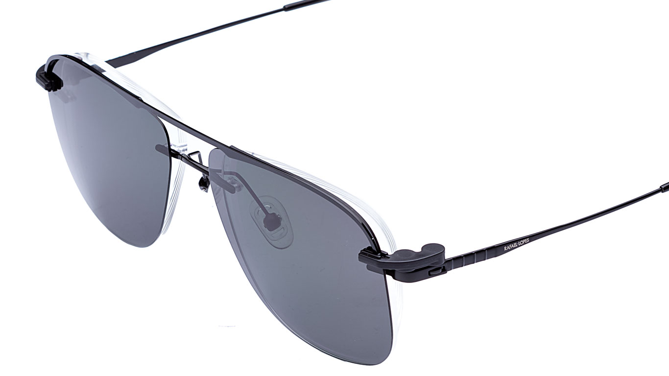 Óculos de Grau Brooklyn Clip On Rafael Lopes