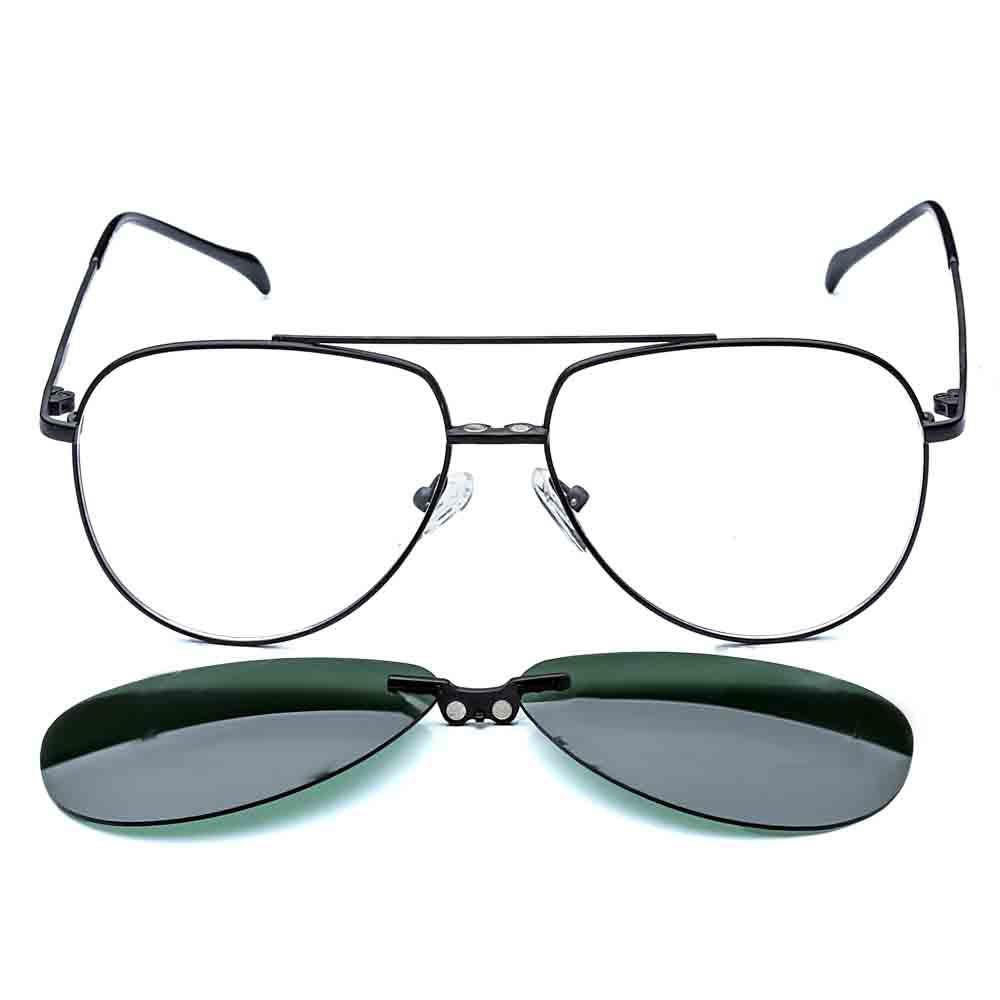 Alcapone Clip On - Rafael Lopes Eyewear