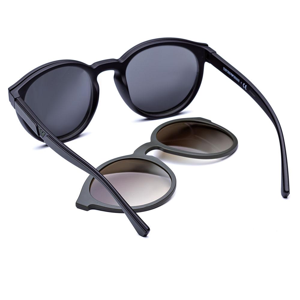 Óculos de Grau Clip On Emporio Armani EA 4152 5042-1W 52 - Original