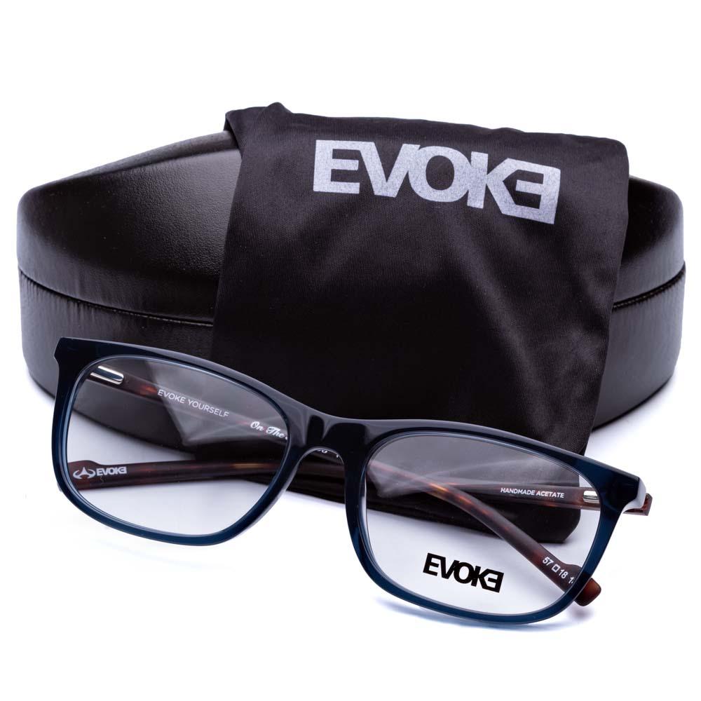 Óculos de Grau EVOKE ON THE ROCKS V T01 BLUE - Original