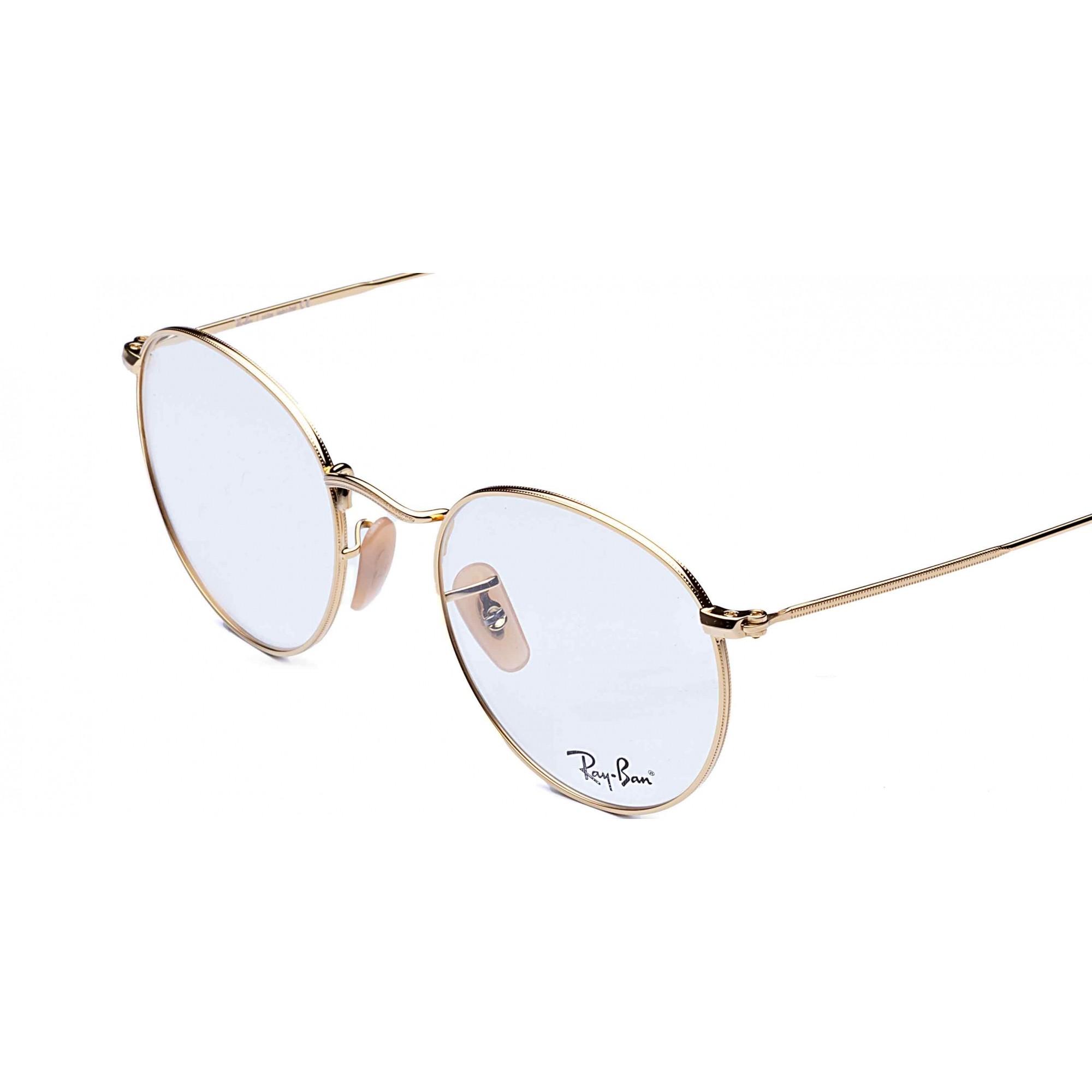 Óculos de Grau Round Metal Optics Ray-Ban - Original