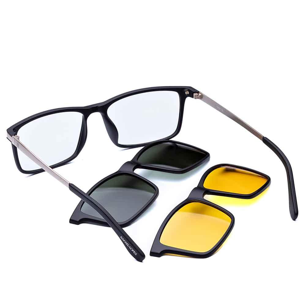 Tecnologic Metal Clip On - Rafael Lopes Eyewear
