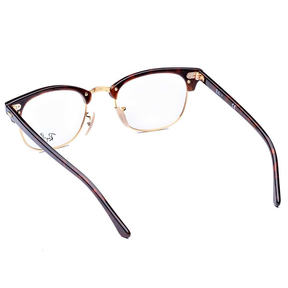 Óculos de Grau Clubmaster Optics Ray-Ban - Original