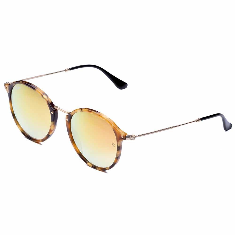 Óculos de Sol Round Fleck + Lente Solar com Grau