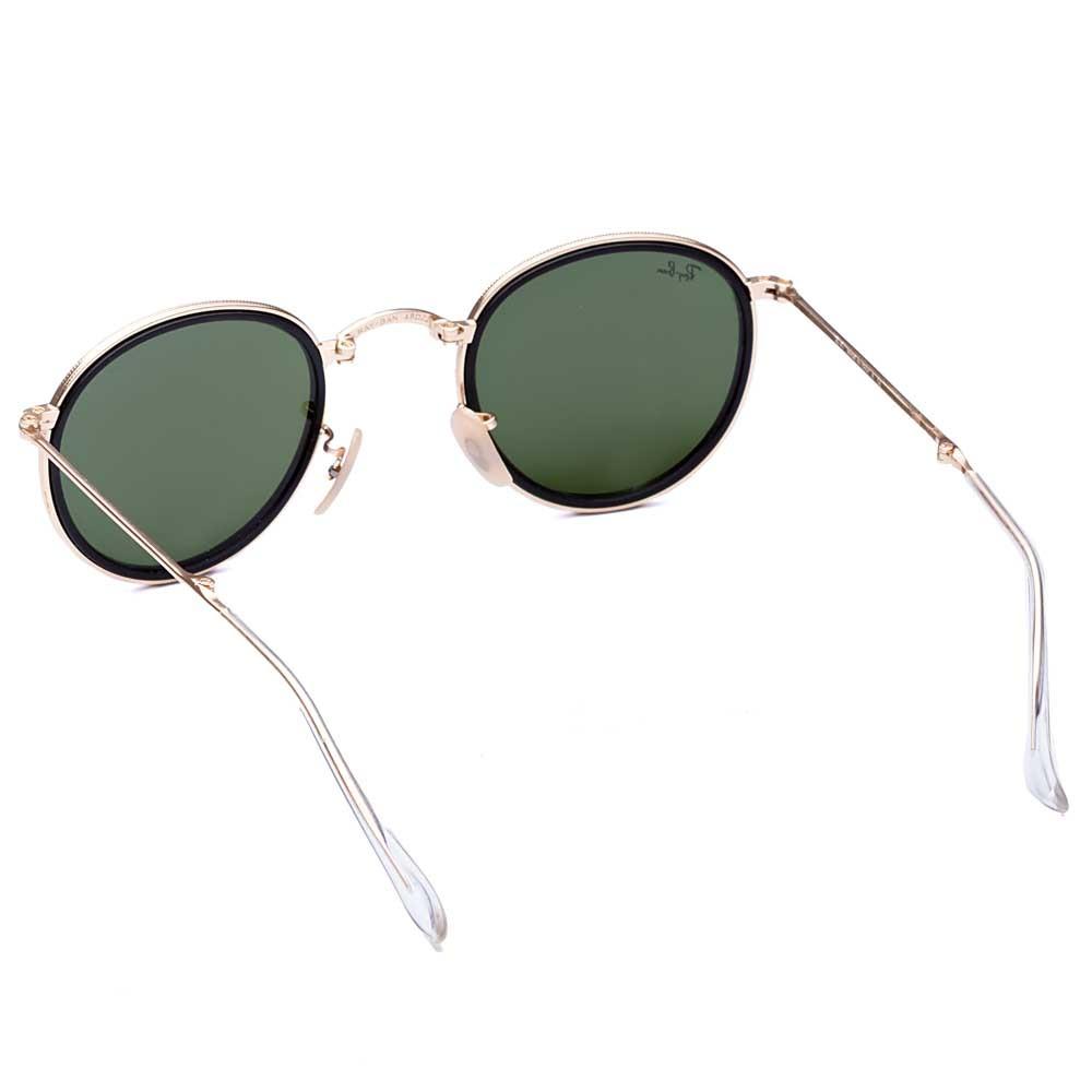 Óculos de Sol Round Folding + Lente Solar com Grau