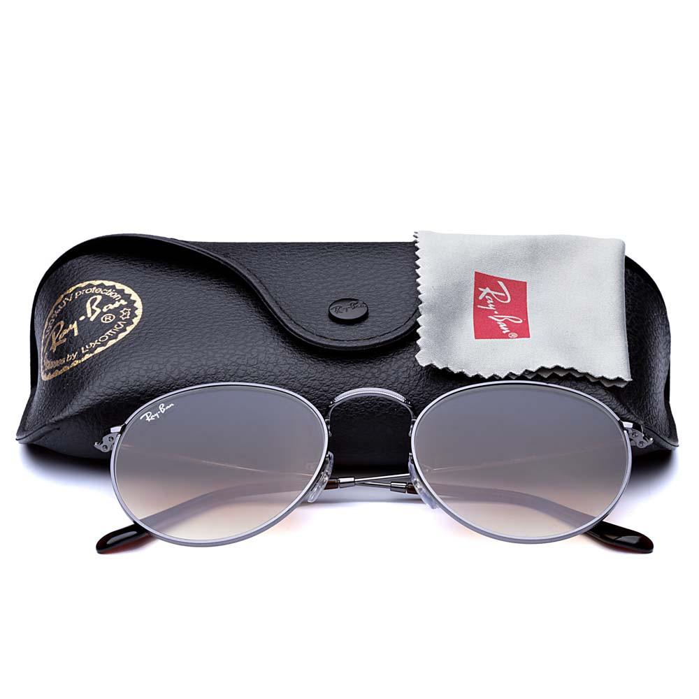 Óculos de Sol Round + Lente Solar com Grau