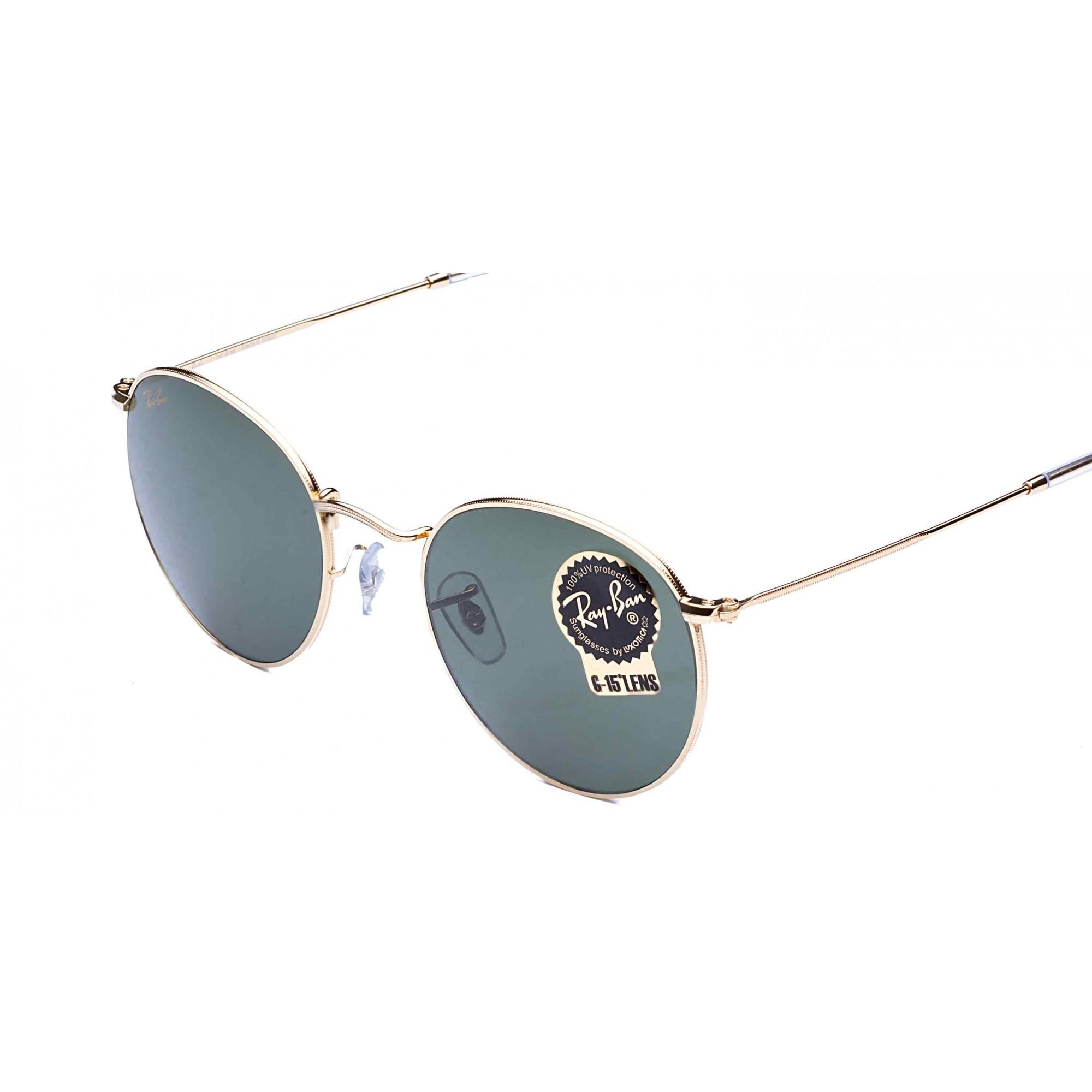 Óculos de Sol Round Metal Legend Gold Ray-Ban - Original