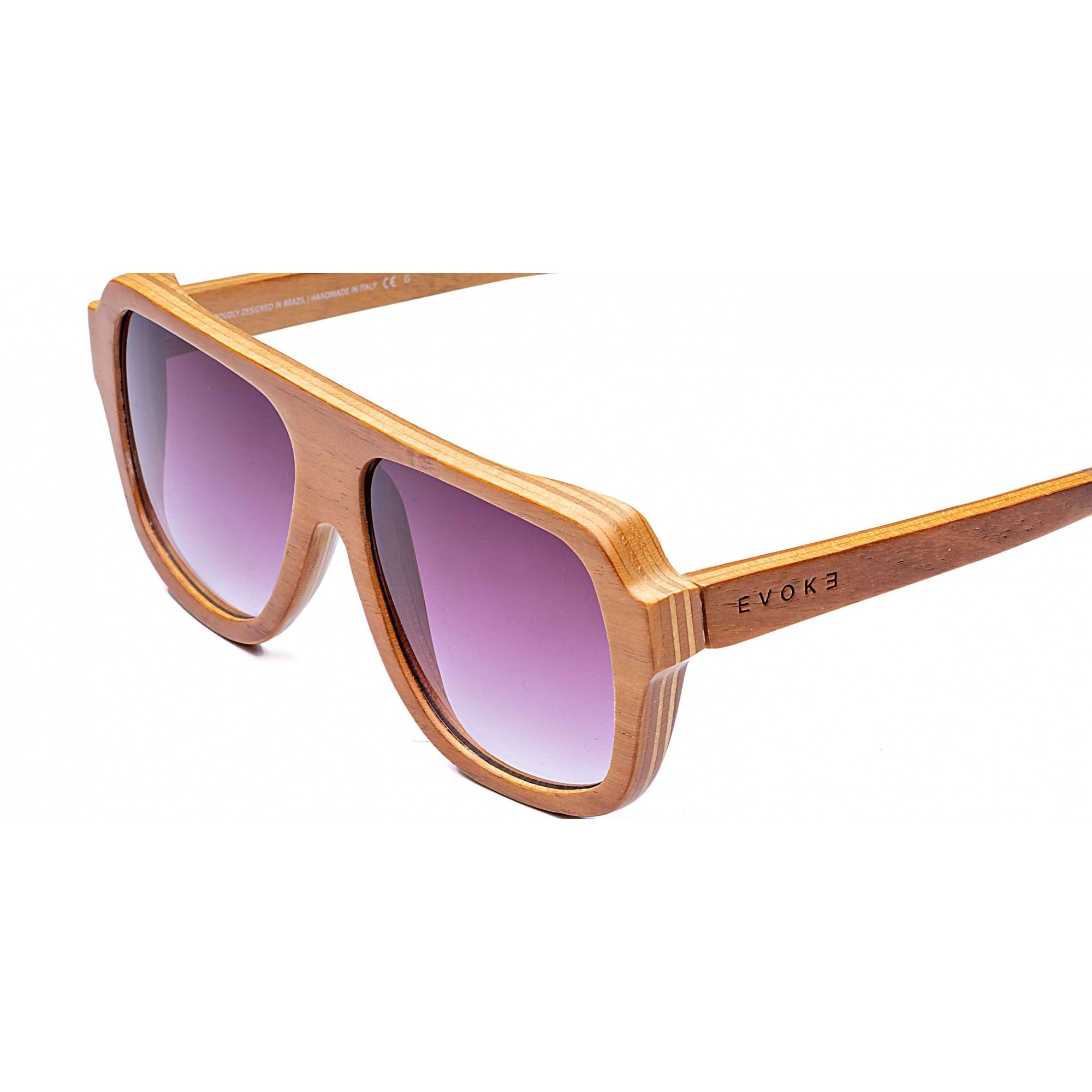 Óculos de Sol WoodSeries 01 + Lente Solar com Grau