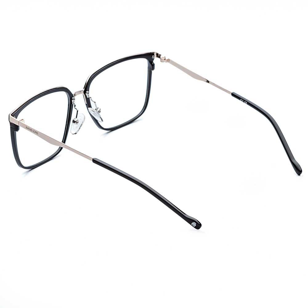 Óculos de Grau Steel Rafael Lopes