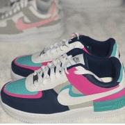 Nike Air Force Shadow - Pink e Azul Marinho