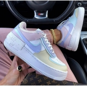 Nike Air Force Shadow - Tons Pastéis