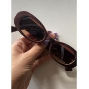 Óculos Eight Retrô Marrom