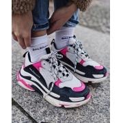 Tênis Balenciaga Triple S - Pink