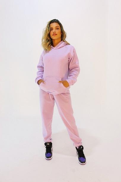 Conjunto Fairbanks Lilás (blusa, calça e short)
