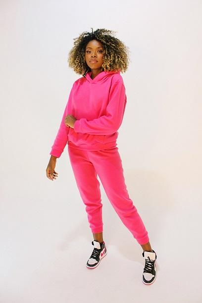 Conjunto Fairbanks Pink (blusa, calça e short)