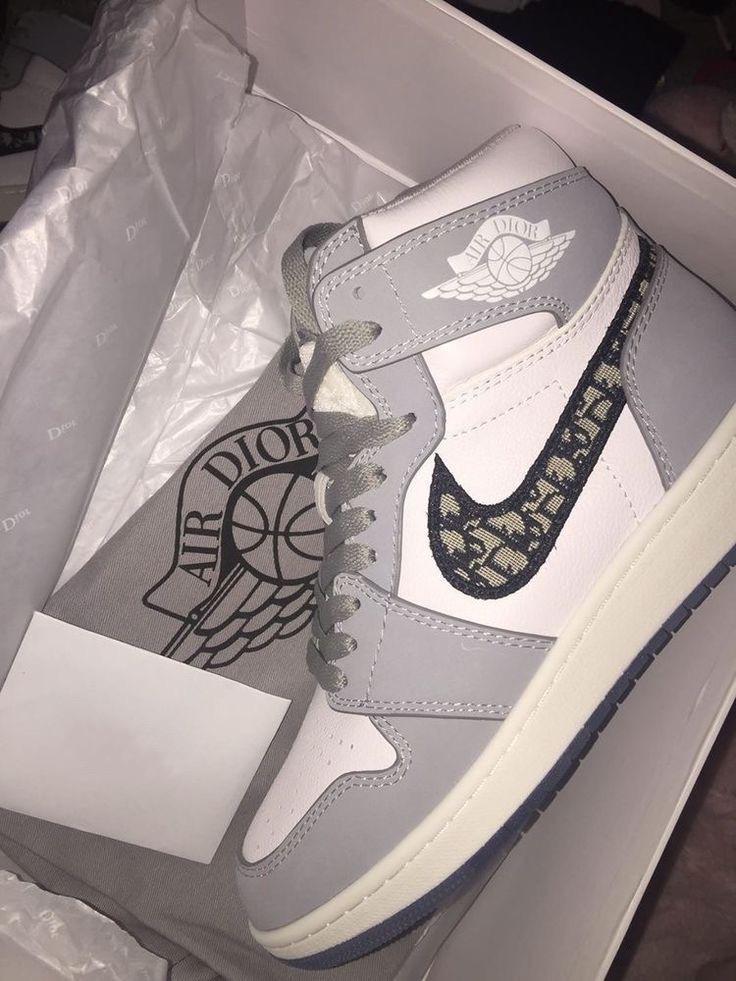 Nike Air Jordan X Dior - Cinza