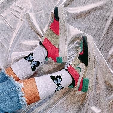 Nike Air Force 1 Shadow - Azul Marinho e Pink