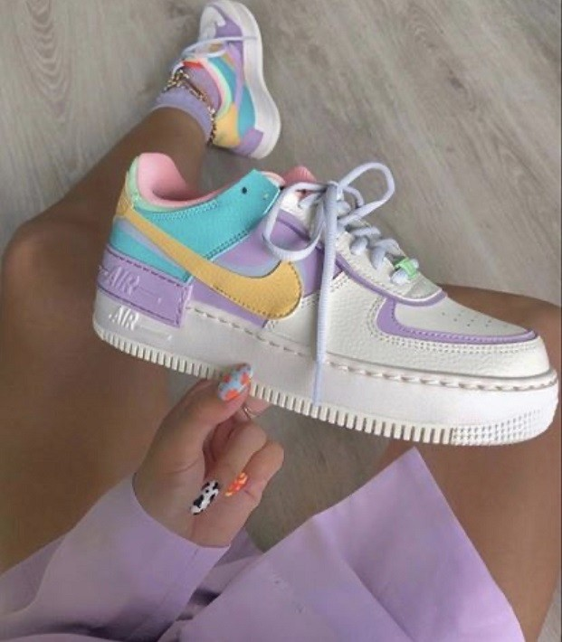 Nike Air Force 1 Shadow - Candy Colors