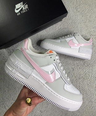 Nike Air Force 1 Shadow - Rosinha