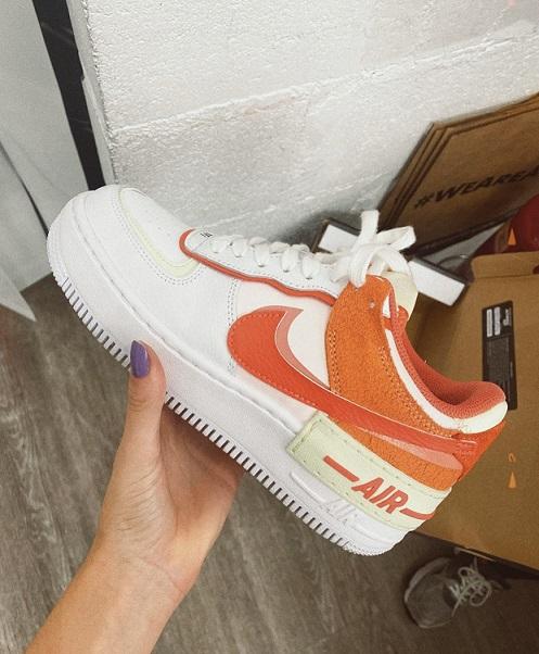 Nike Air Force Shadow - Orange Pearl