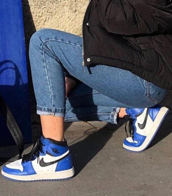 Nike Air Jordan 1 Azul Escuro