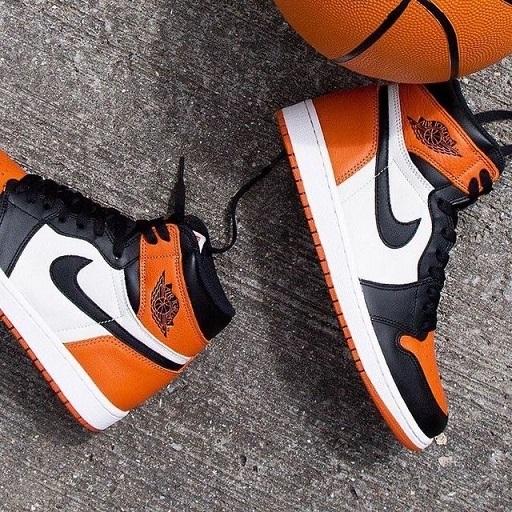 Nike Air Jordan 1 Laranja