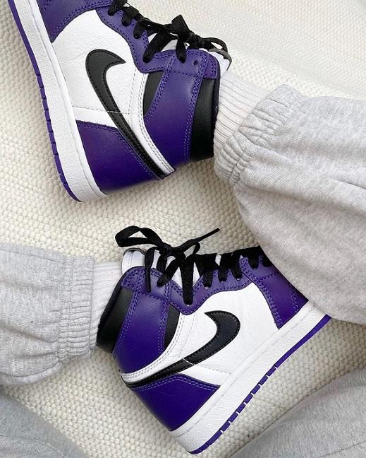 Nike Air Jordan - Roxo