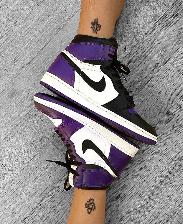 Nike  Air Jordan 1 Roxo