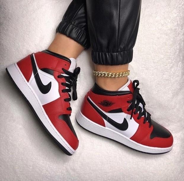Nike Air Jordan 1 Vermelho