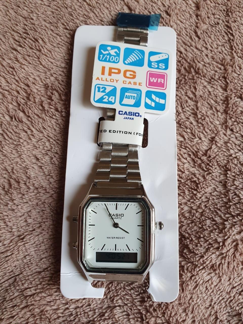 Relógio Casio Analógico & Digital