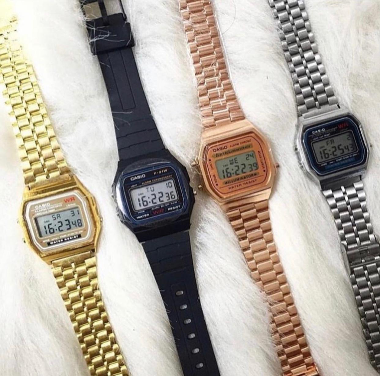 Relógio Casio vintage (Tradicional)