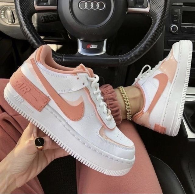 Nike  Air Force Shadow - Washed Coral
