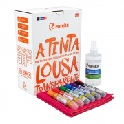 Super Kit Tinta Lousa Transparente - Eureka Paint