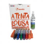 Super Kit Tinta Lousa Transparente - Eureka Paint