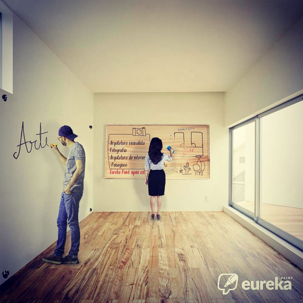 Tinta Lousa Transparente Eureka Paint 5m²