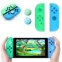 Case de Silicone + Par de Protetores Analógicos para Controles Joy-Con - Animal Crossing - Nintendo Switch