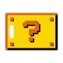 Tábua de Carne de Vidro 35x25cm - Interrogação 2