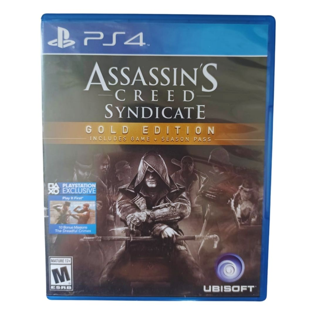 Assassin's Creed: Syndicate - Gold Edition - PS4 - Usado
