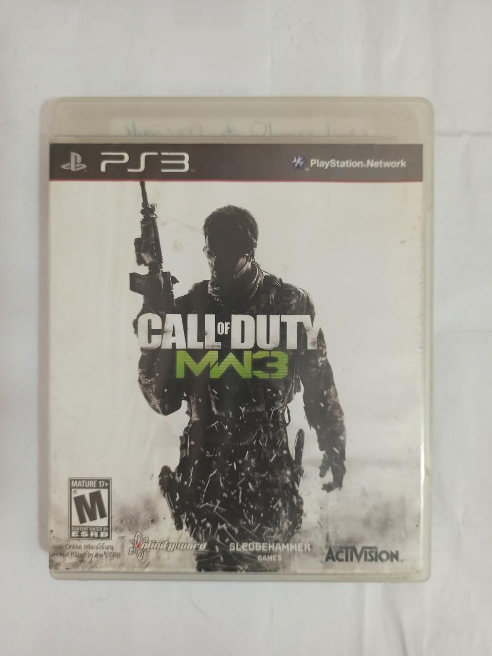Call of Duty: Modern Warfare 3 - PS3 - Usado