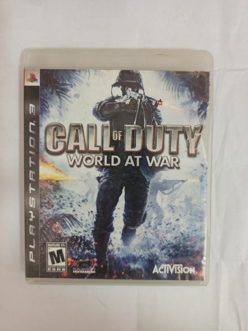 Call of Duty: World at War - PS3 - Usado